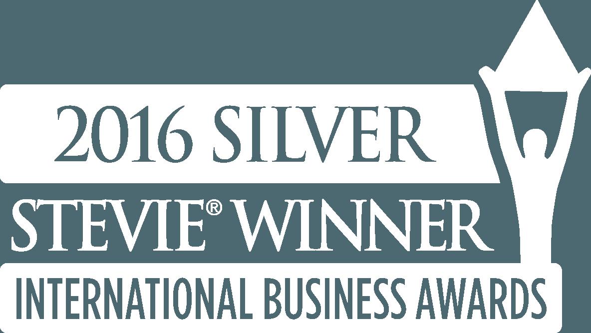 2016 Gold Stevie winner International Business Awards