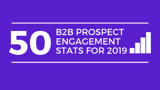Top 50 B2B Prospect Engagement Stats 2019