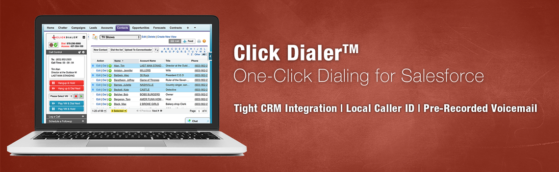 Salesforce Click to Call Dialer Live Demo Request