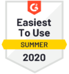 G2 Summer Easiest to Use