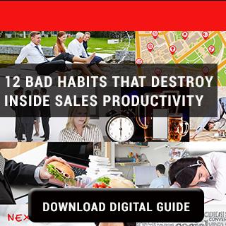 12 Bad Habits Destroy Inside Sales Productivity