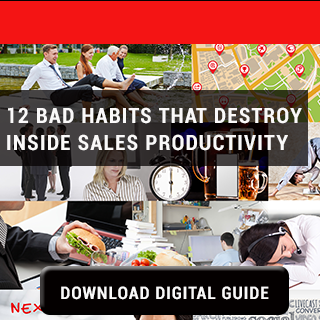 12 Bad Habits Destroy Inside Sales Productivity