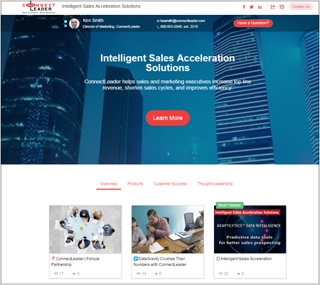 Folloze boards are an innovative lead qualification solution for B2B marketers