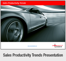 Sales Productivity Trends