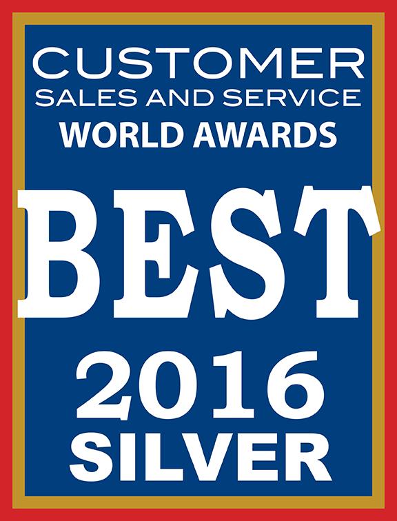 2016 Customer Sales and Service World Awards