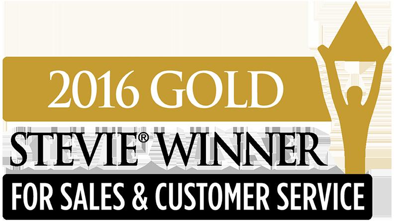 2016 Stevie Awards for Sales & Customer Service